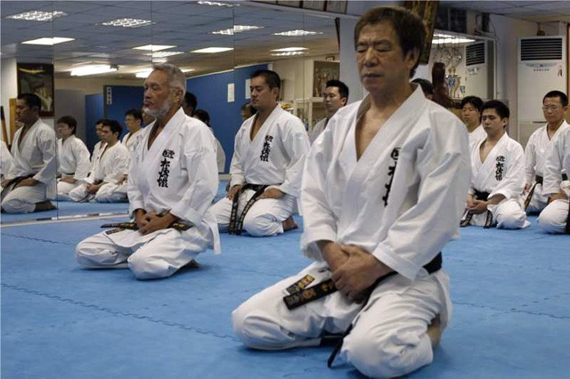 медитация в карате