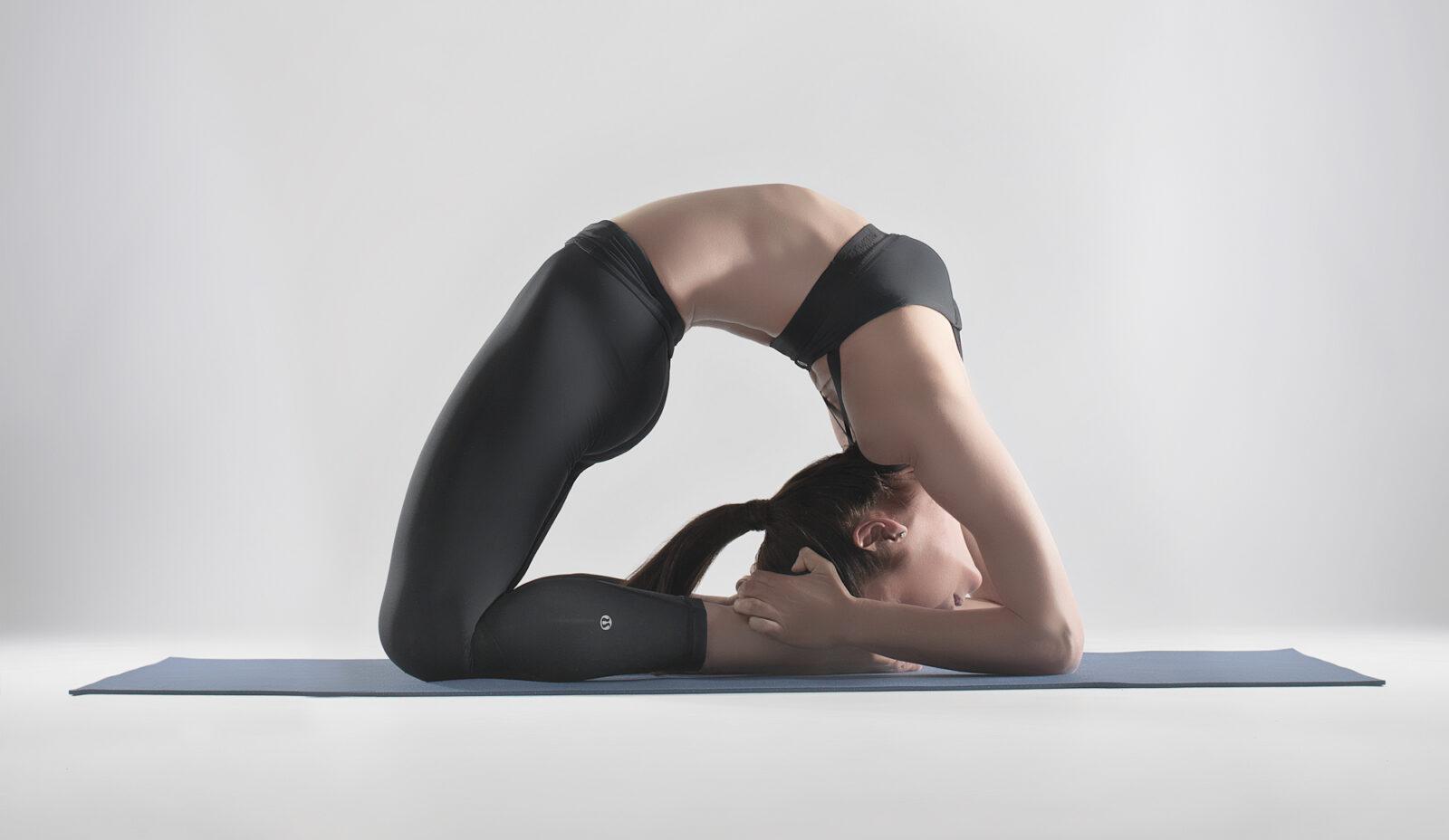 Поза голубя в йоге