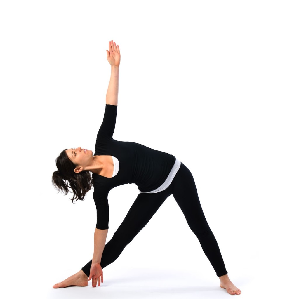 pose of the triangle