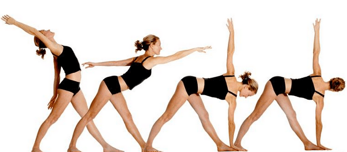 Уттхита Триконасана II - позы хатха йоги