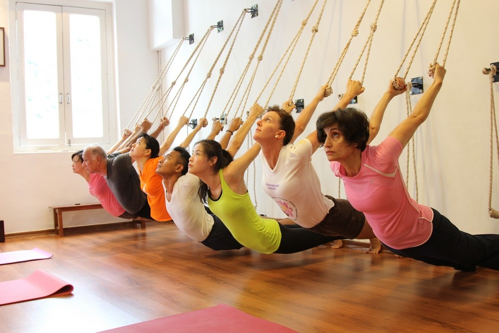 Основы йоги айенгара