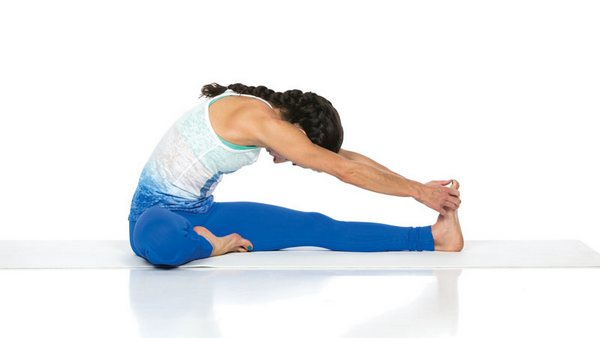 Janu Shirshasana hatha yoga
