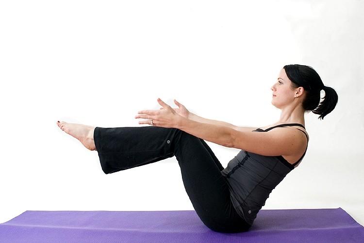 Навасана I - Хатха йога