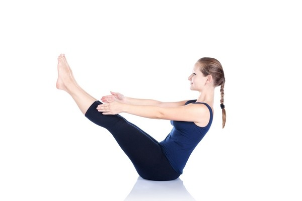 Навасана II - Хатха йога