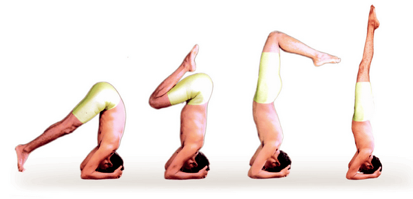Salamba Shirshasana - poses of Hatha Yoga