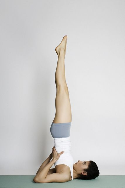 Sarvangasana - the pose of Hatha Yoga
