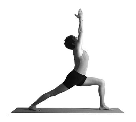 Вирабхадрасана I - позы Хатха йоги