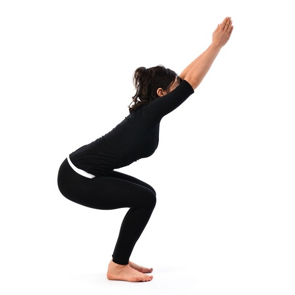 Asana Chair-poses of Hatha Yoga
