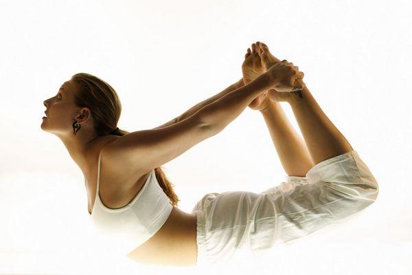 Выполнение асан в хатха йоге