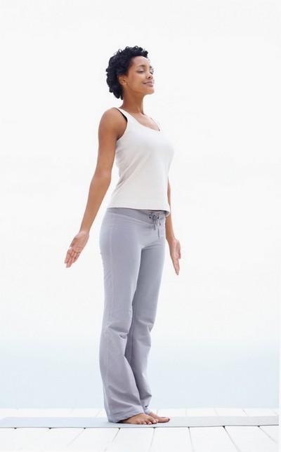 Тадасана - асаны Хатха йоги