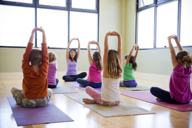 Йога для детей от 3 до 6 лет