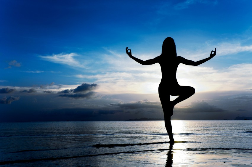 Йога для грудного отдела