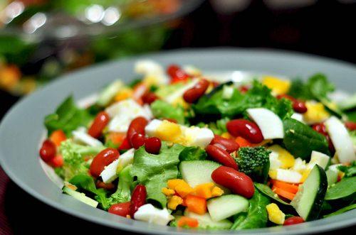 Салаты вегетарианские