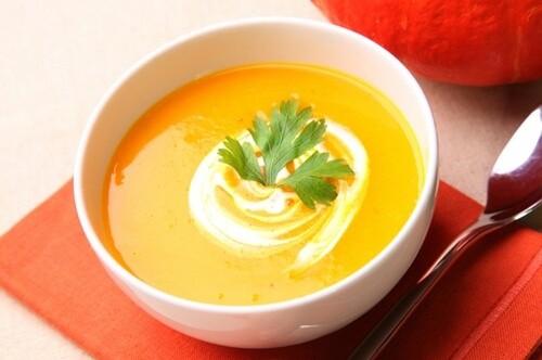 Суп-пюре из тыковки