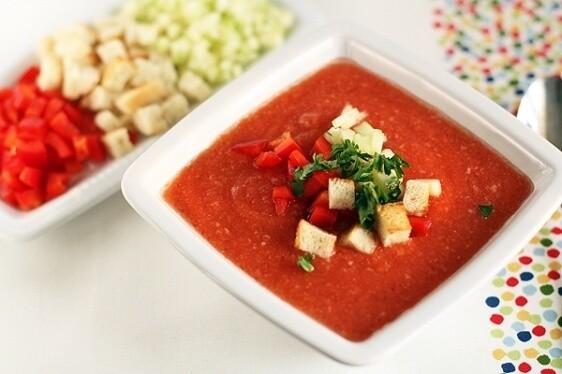 вегетарианский Гаспачо