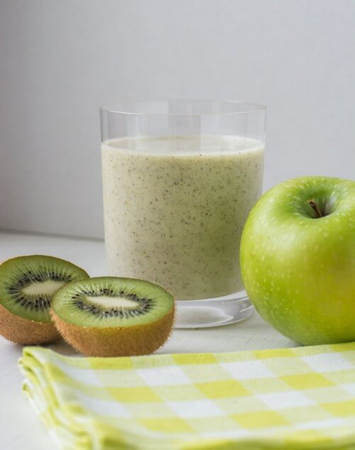смузи яблоко киви