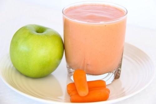 яблоко морковь смузи