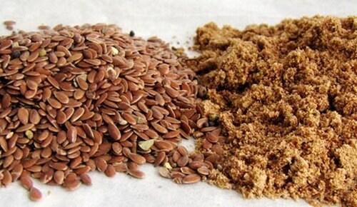 Каша из льняных семян сыроедение