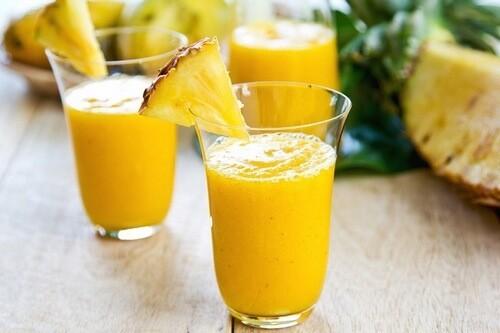 смузи с ананасом