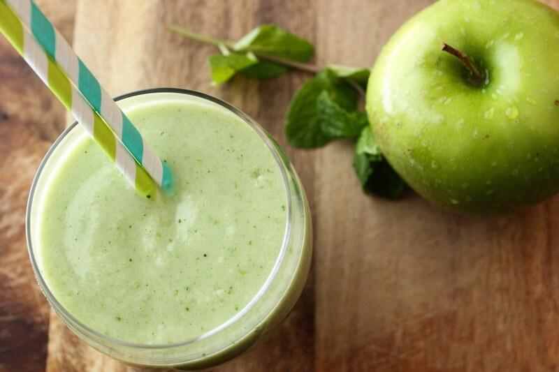 смузи для блендера с яблоком рецепты