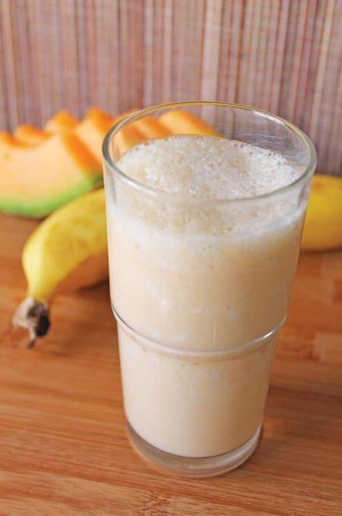 смузи дыня банан
