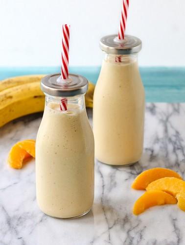 смузи творог апельсин банан