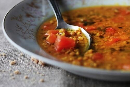 Дал суп индийский