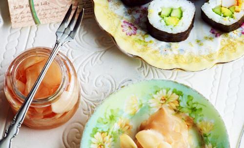 имбирь в суши