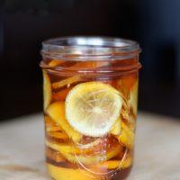 имбирь лимон мед рецепт для иммунитета