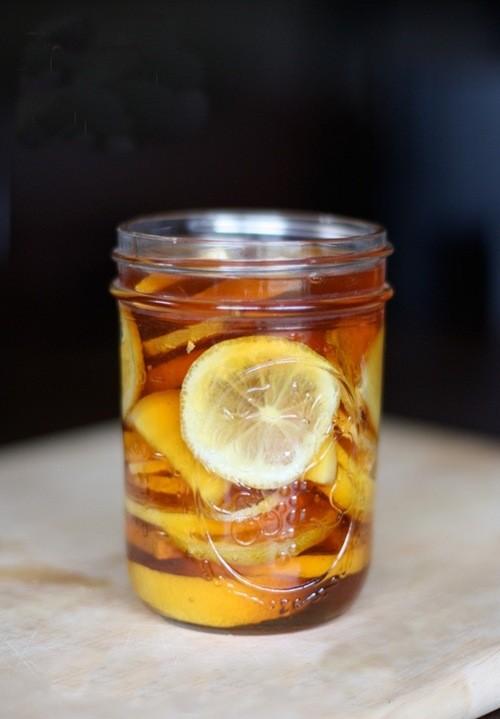 Имбирный чай с лимоном рецепт с фото