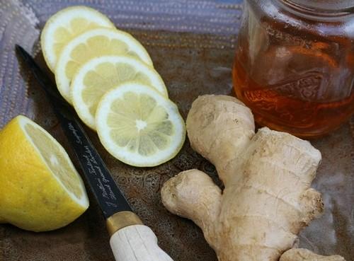 мед, лимон, имбирь для иммунитета