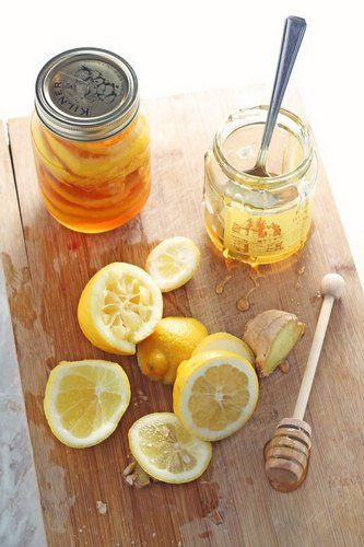 мёд лимон имбирь