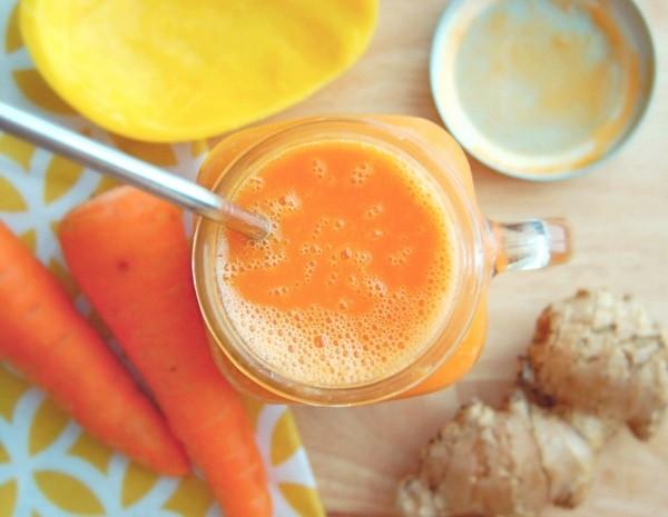 смузи морковь имбирь