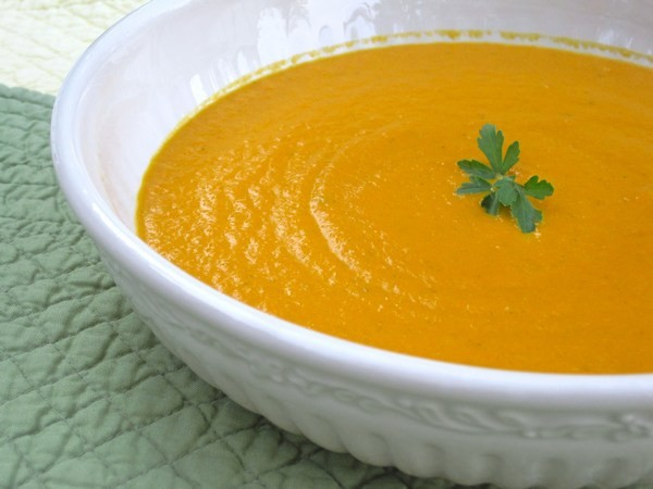 суп из моркови и имбиря