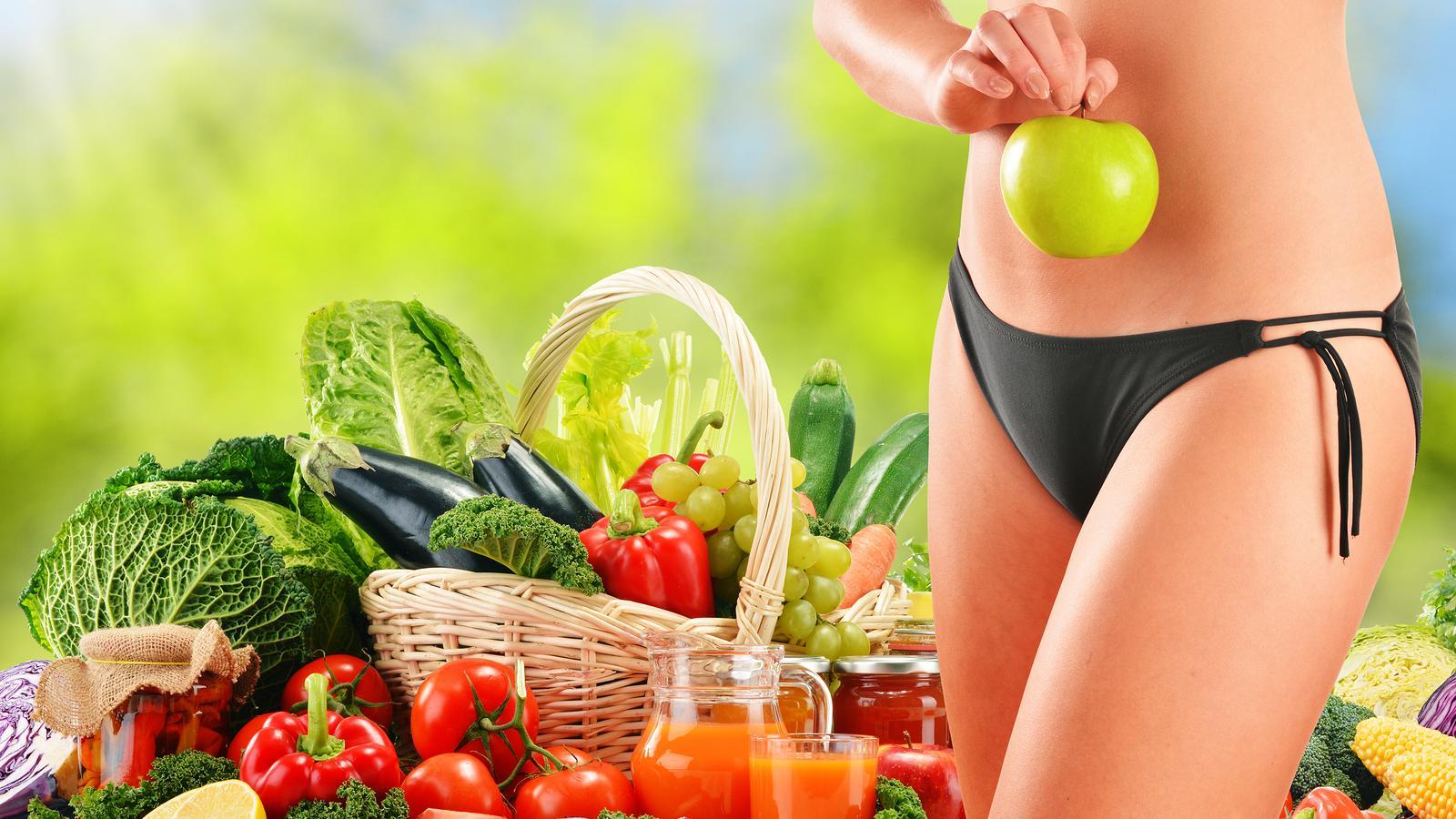 Как похудеть на вегетарианской диете
