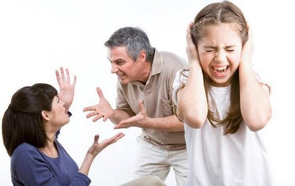 развод из-за родителей