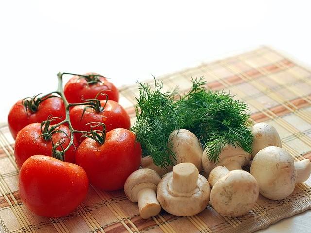 Простые веганские салаты
