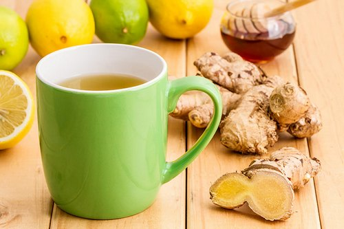 Имбирный чай кормящей маме